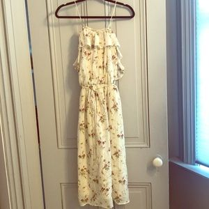 Floral dress from Zara